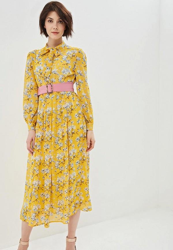 женское повседневные платье sister jane, желтое
