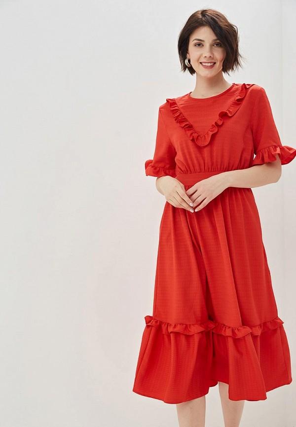 женское повседневные платье sister jane, красное