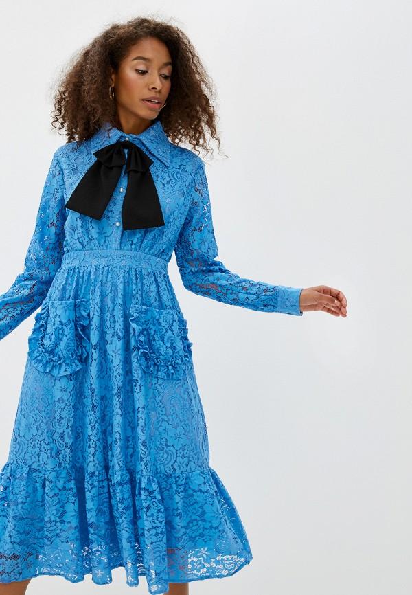 Фото 2 - Платье Sister Jane синего цвета