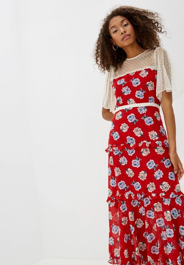 Фото 2 - Платье Sister Jane красного цвета
