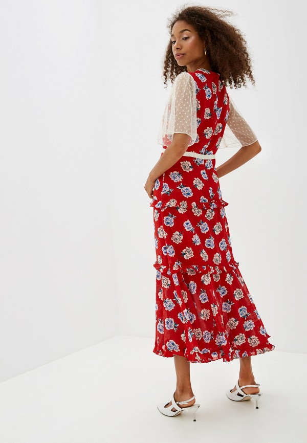 Фото 3 - Платье Sister Jane красного цвета