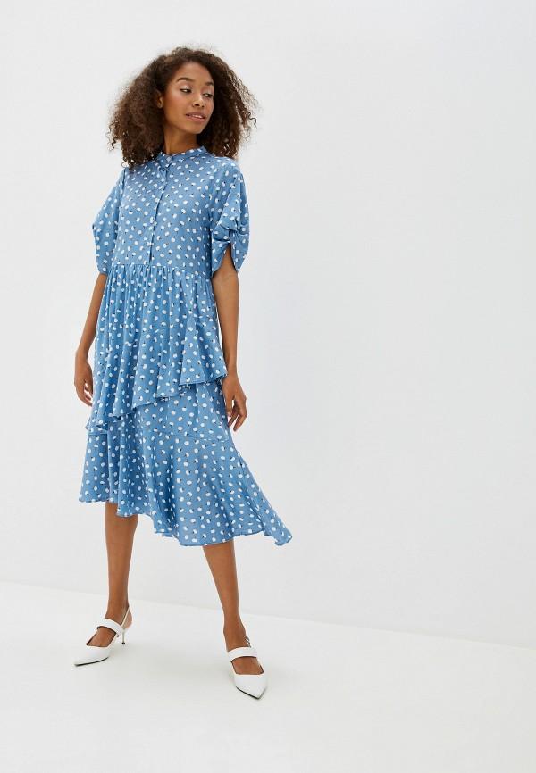 Фото - Платье Sister Jane голубого цвета
