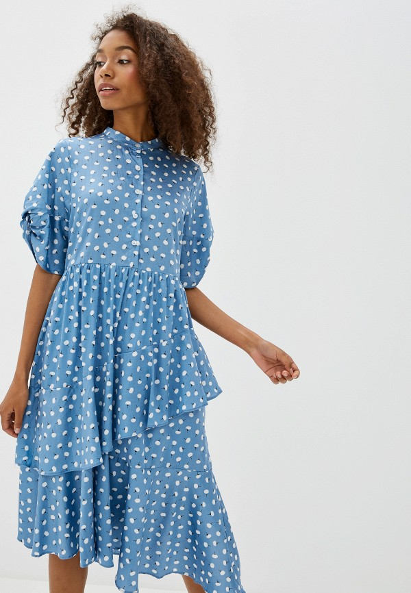 Фото 2 - Платье Sister Jane голубого цвета
