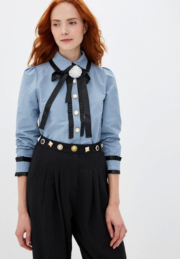 женская блузка sister jane, голубая