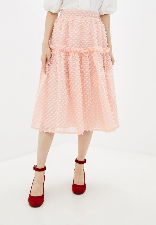 женская юбка sister jane, розовая
