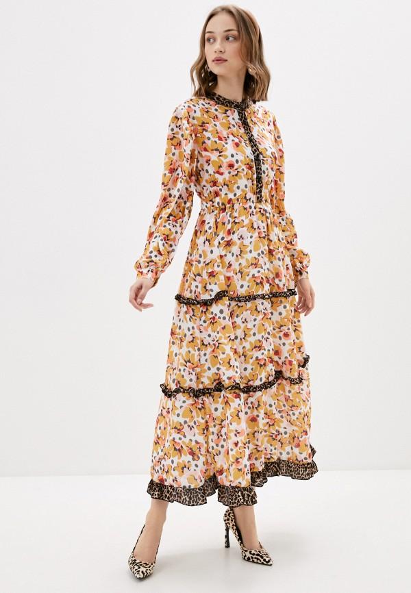 женское вечерние платье sister jane, желтое