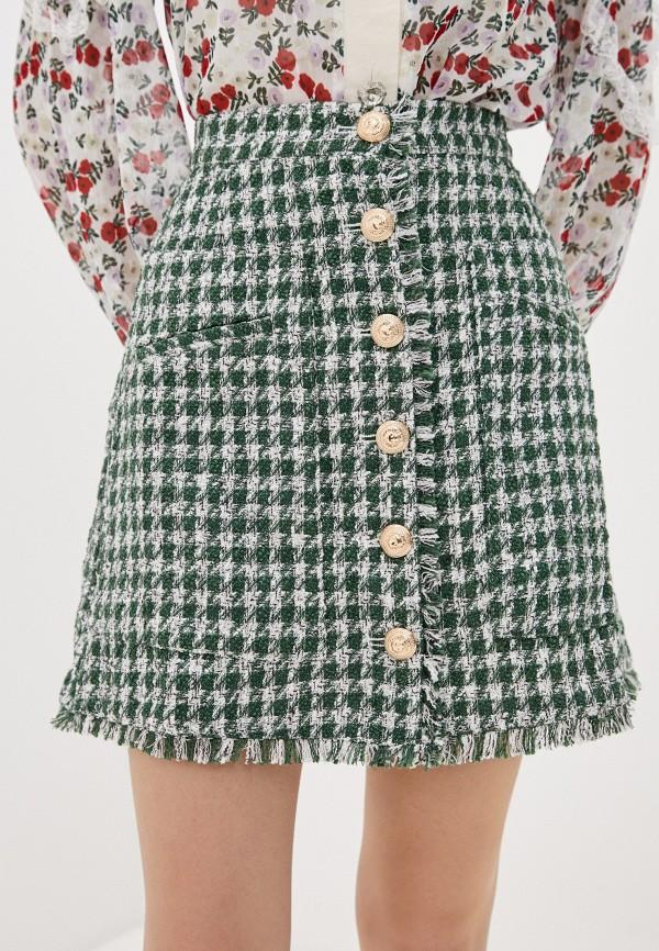 женская юбка sister jane, зеленая