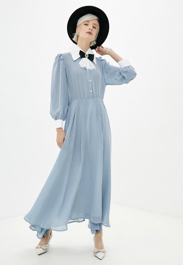 женское платье sister jane, голубое