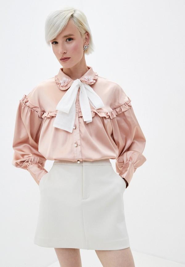 женская блузка sister jane, розовая
