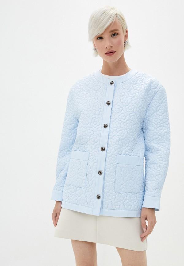женская куртка sister jane, голубая