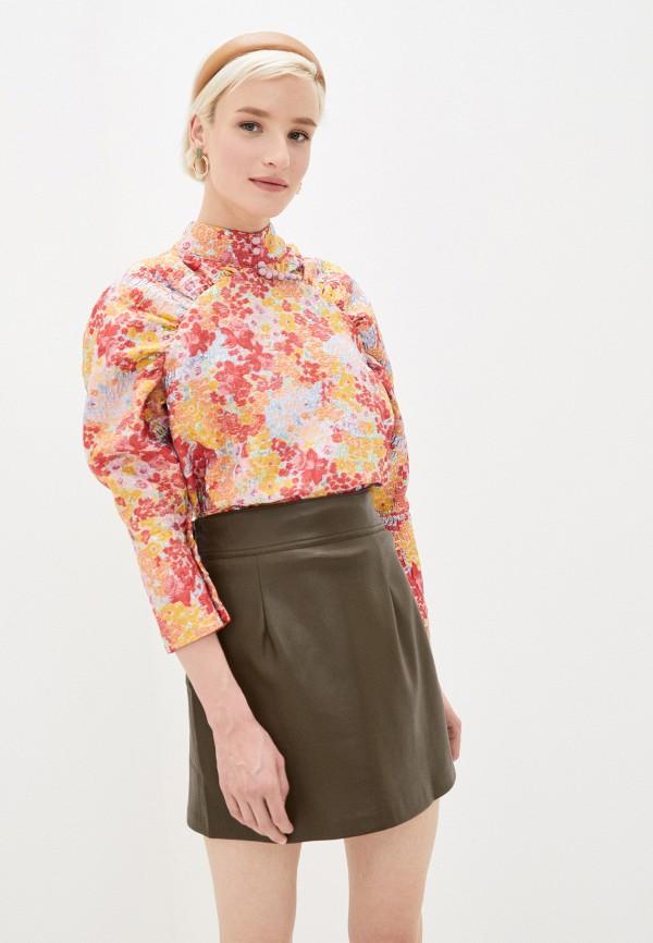 женская блузка sister jane, разноцветная