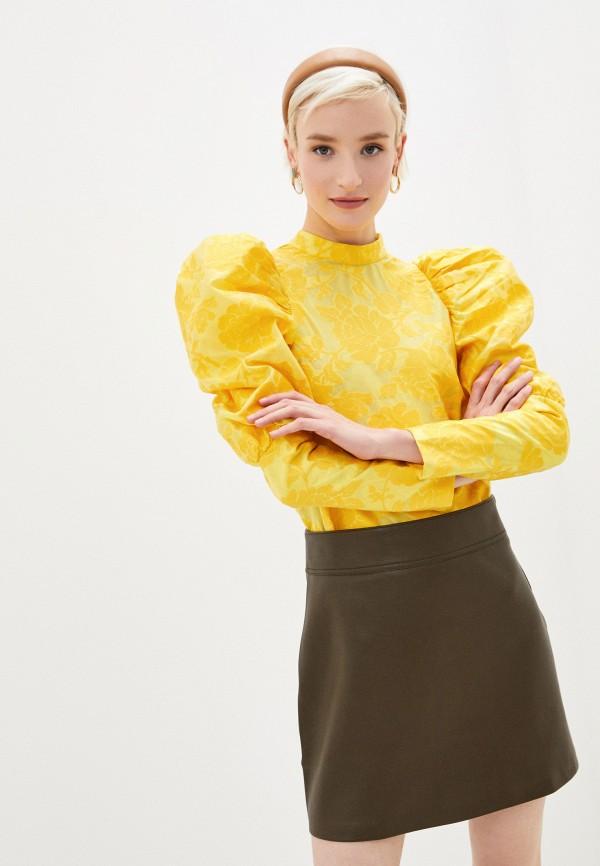 женская блузка sister jane, желтая