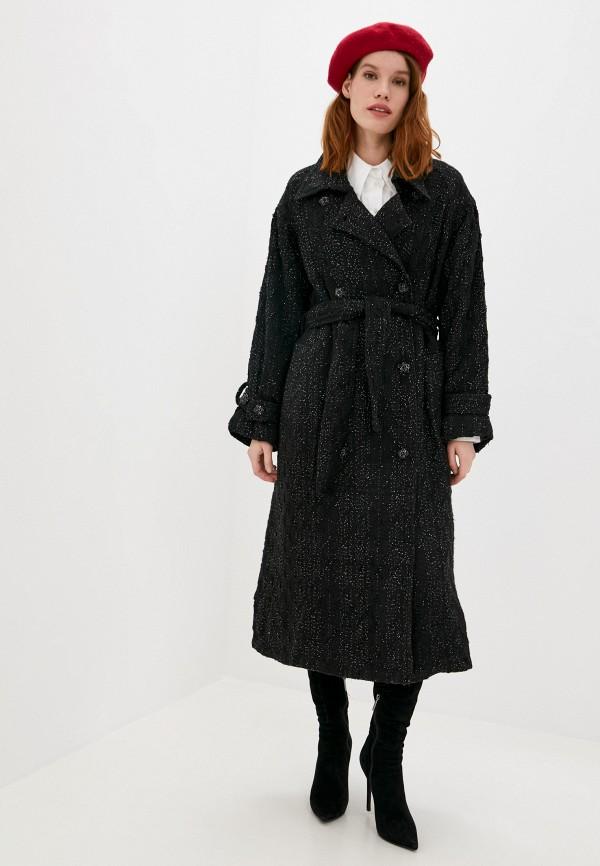 женское пальто sister jane, черное
