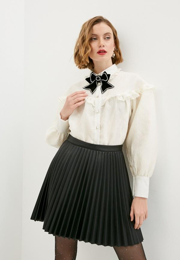 женская блузка sister jane, бежевая