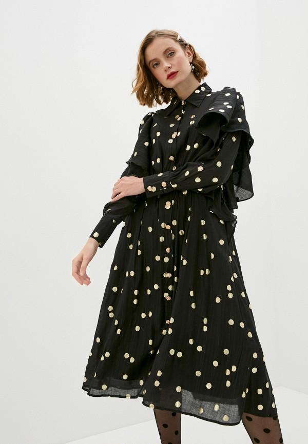 женское вечерние платье sister jane, черное