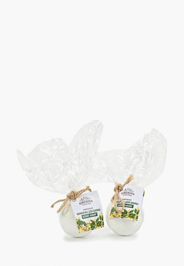 Соль для ванн Siberina Siberina SI032LWFXMU5 соль для ванны зейтун ароматизированная соль для ванн общеукрепляющая с маслами розового дерева сосны и розмарина