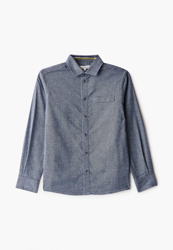 рубашка silver spoon для мальчика, синяя
