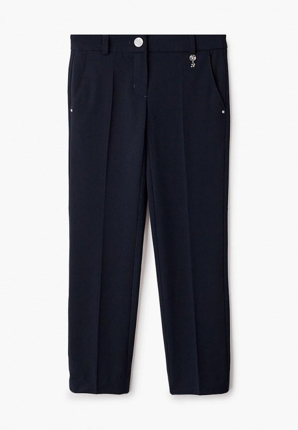 брюки silver spoon для девочки, синие