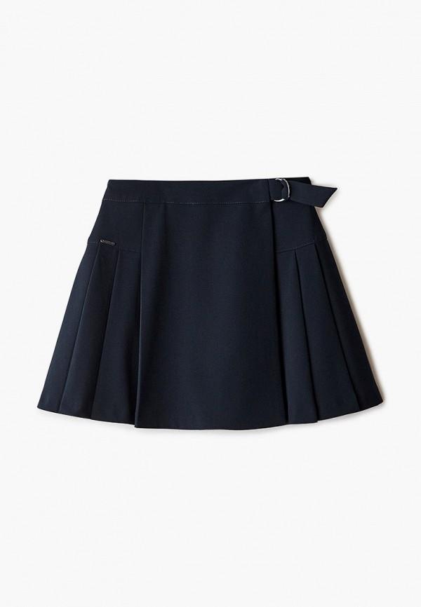 юбка silver spoon для девочки, синяя