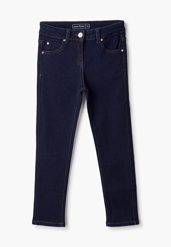 джинсы silver spoon для девочки, синие