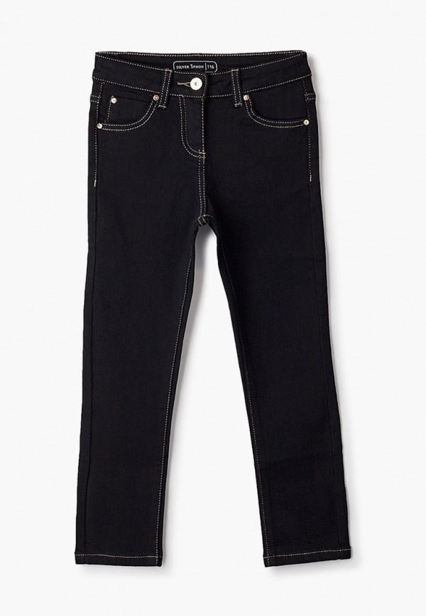 джинсы silver spoon для девочки, черные