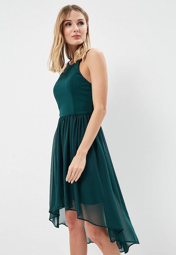 Платье Silvian Heach, SI386EWAOYX8, зеленый, Весна-лето 2018  - купить со скидкой