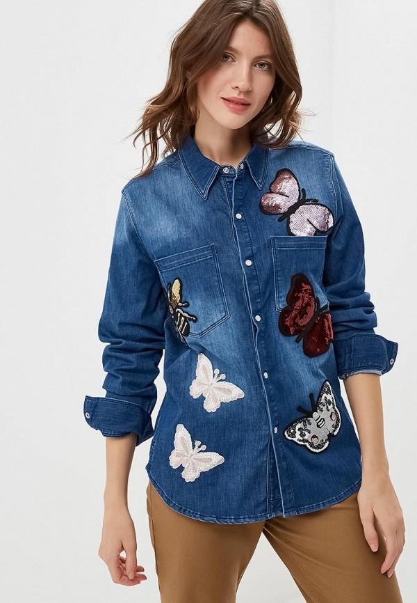 Рубашка джинсовая Silvian Heach Silvian Heach SI386EWCSWI3 рубашка silvian heach kids рубашка