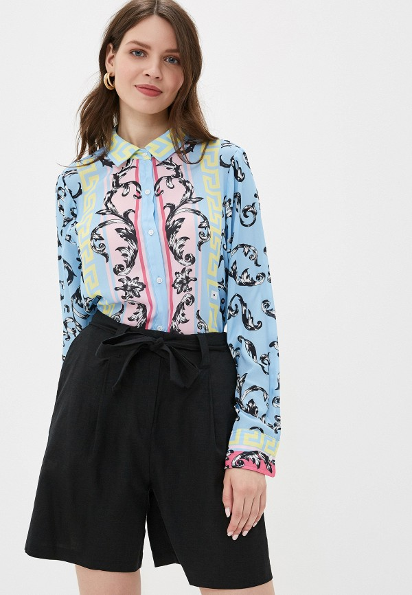 женская блузка silvian heach, голубая