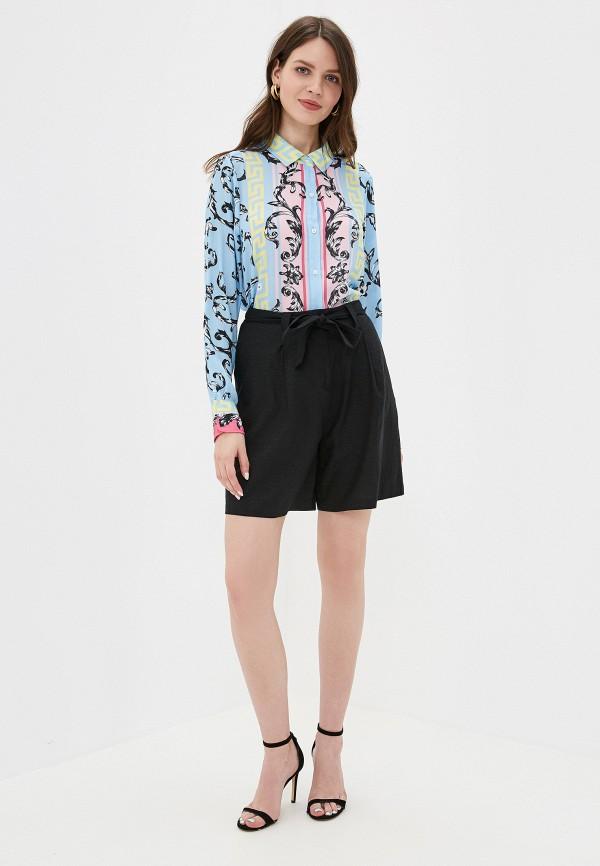 Фото 2 - женскую блузку Silvian Heach голубого цвета