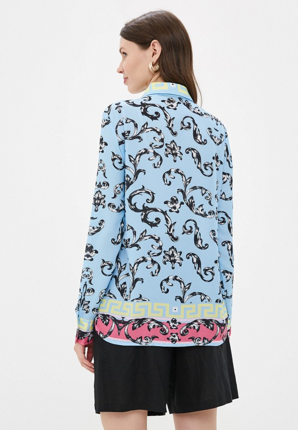 Фото 3 - женскую блузку Silvian Heach голубого цвета