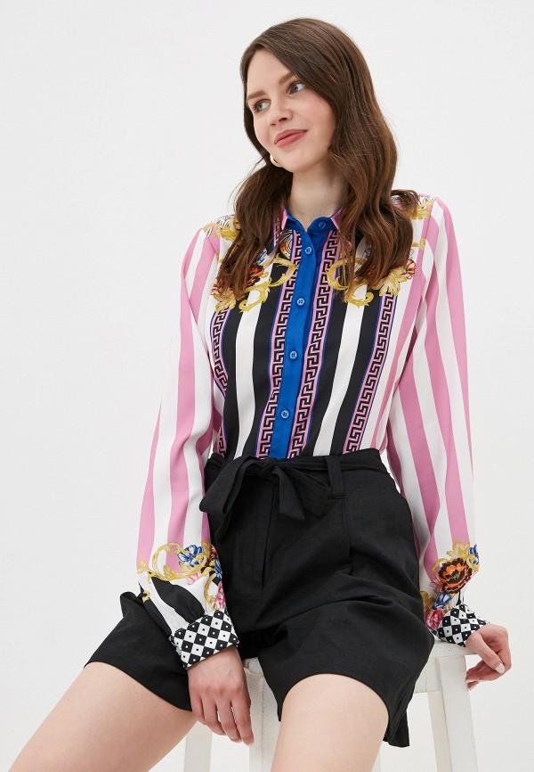 женская блузка silvian heach, разноцветная