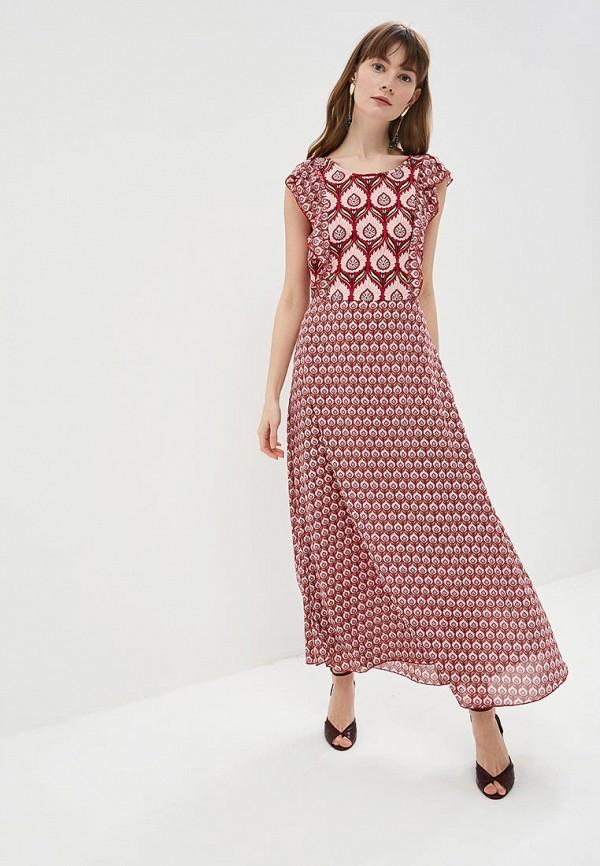 женское повседневные платье silvian heach, разноцветное
