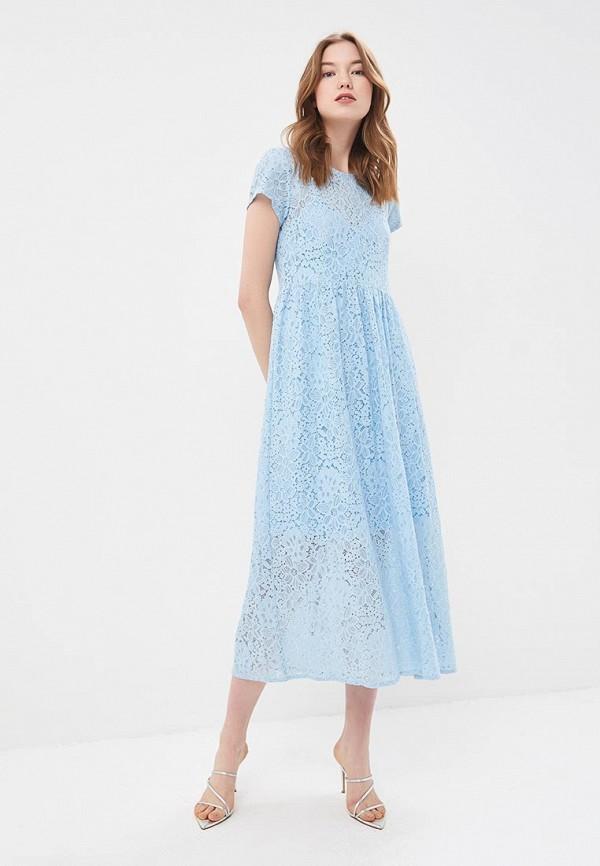 женское повседневные платье silvian heach, голубое