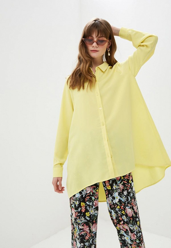 женская блузка silvian heach, желтая
