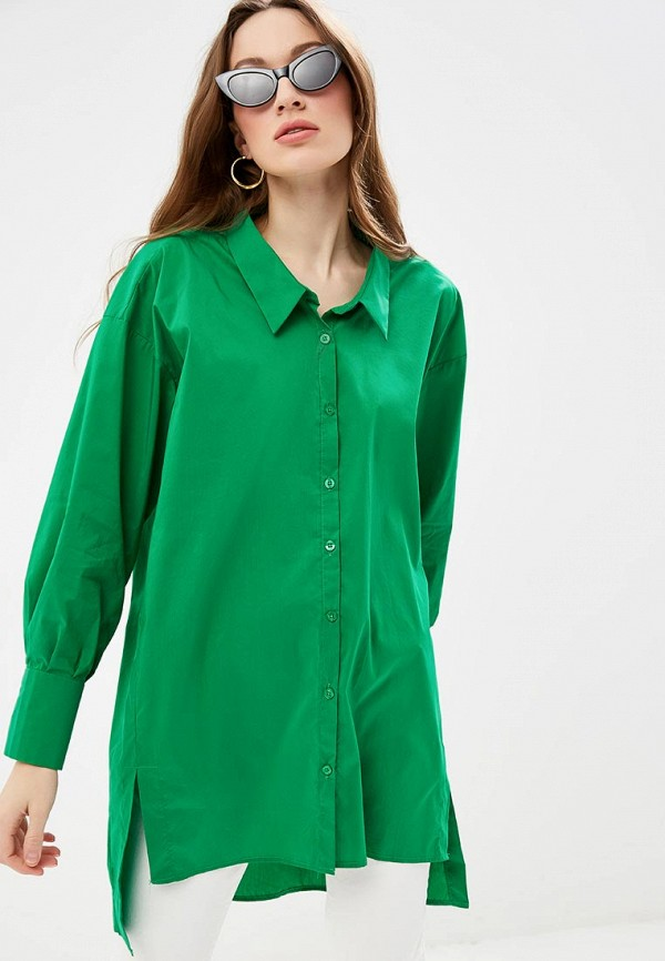 женская туника silvian heach, зеленая
