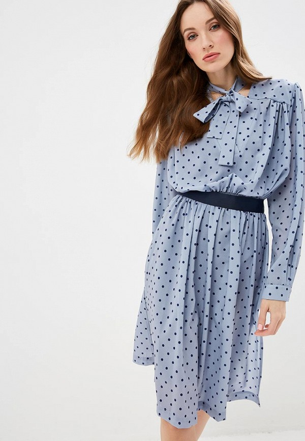 женское повседневные платье silvian heach, серое
