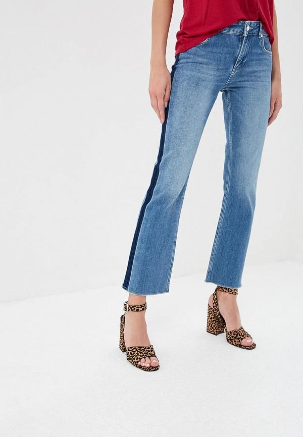 женские джинсы клеш silvian heach, голубые