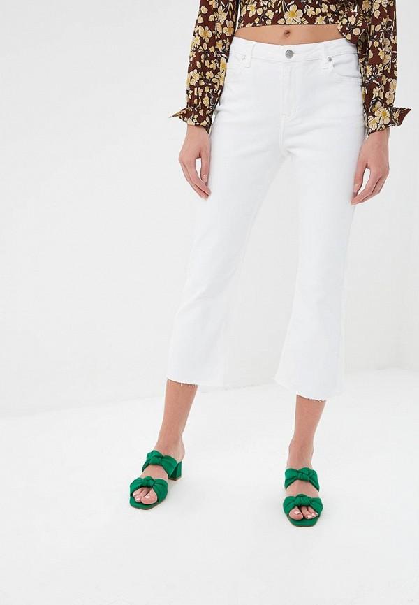 женские прямые джинсы silvian heach, белые