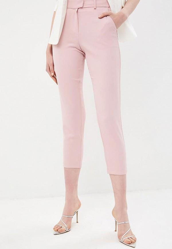 женские повседневные брюки silvian heach, розовые