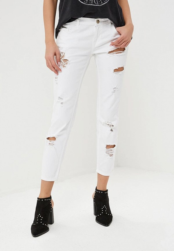 женские джинсы бойфренд silvian heach, белые