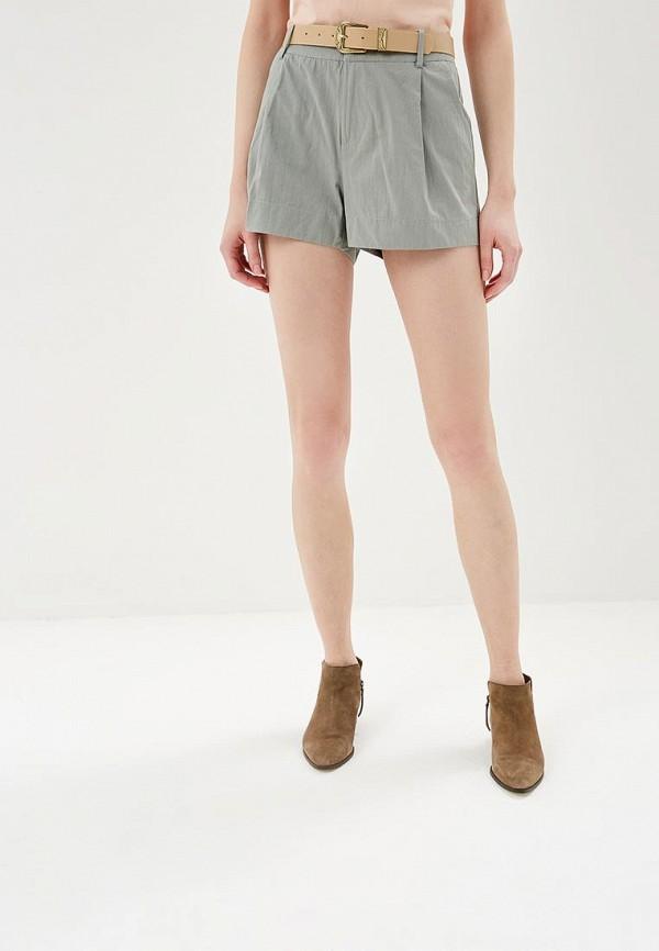 женские повседневные шорты silvian heach, зеленые
