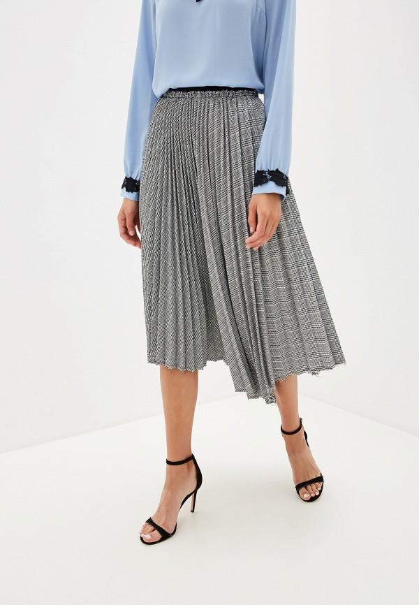 женская юбка silvian heach, серая