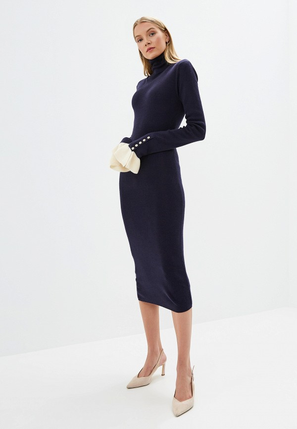 женское платье silvian heach, синее