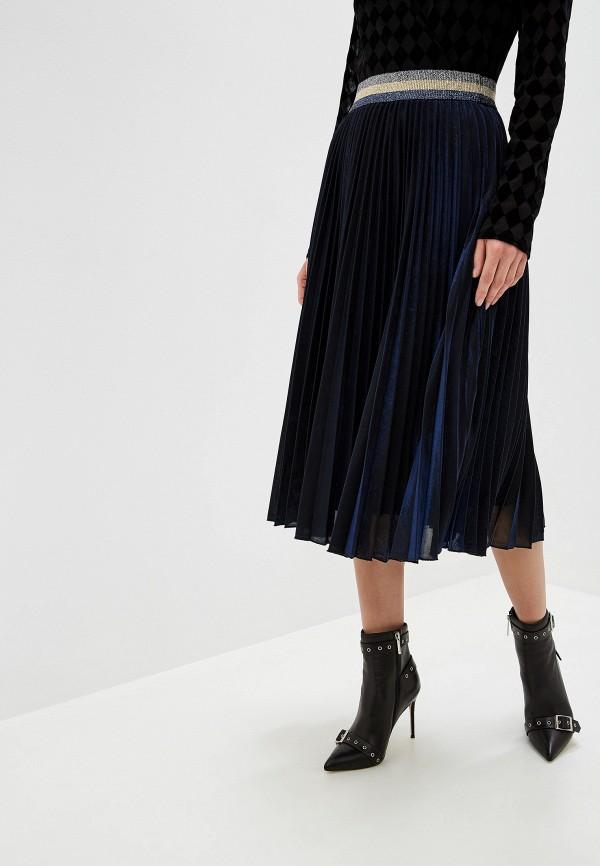 женская юбка silvian heach, синяя