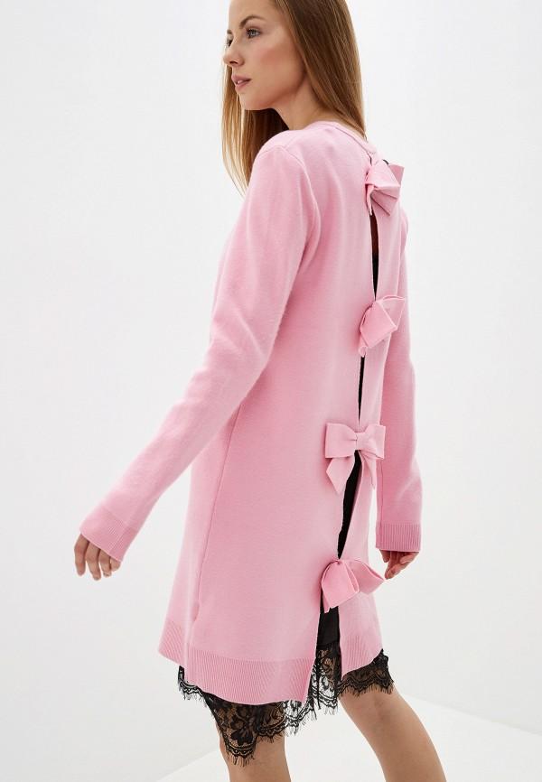 женское платье silvian heach, розовое