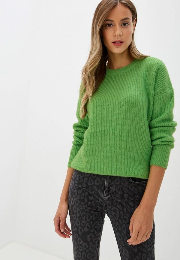 женский джемпер silvian heach, зеленый