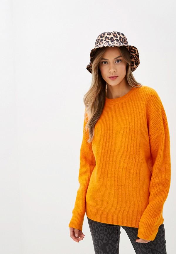 женский джемпер silvian heach, оранжевый