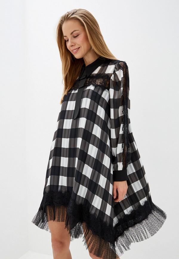 женское повседневные платье silvian heach, хаки