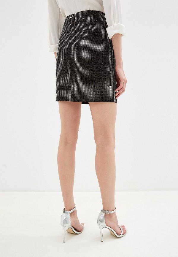 Фото 6 - женскую юбку Silvian Heach черного цвета