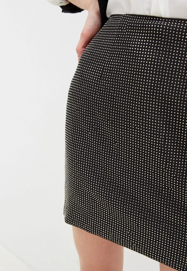 Фото 7 - женскую юбку Silvian Heach черного цвета